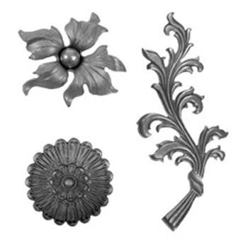类别铸钢叶和花的图片