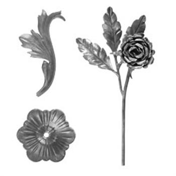 类别锻打叶和花的图片